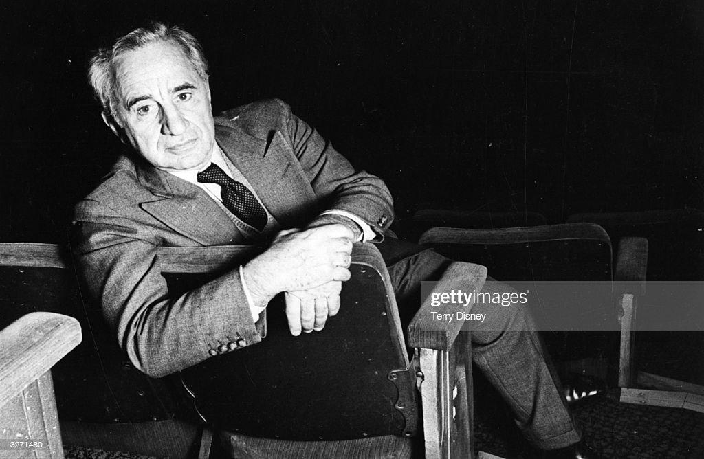 Turkish-born US stage and film director Elia Kazan (1909 - 2003), originally Kazanjoglou.