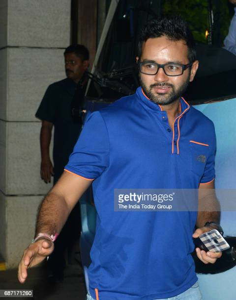Parthiv Patel during the party organised to celebrate Mumbai Indians victory in the Indian Premier League 2017 in Mumbai