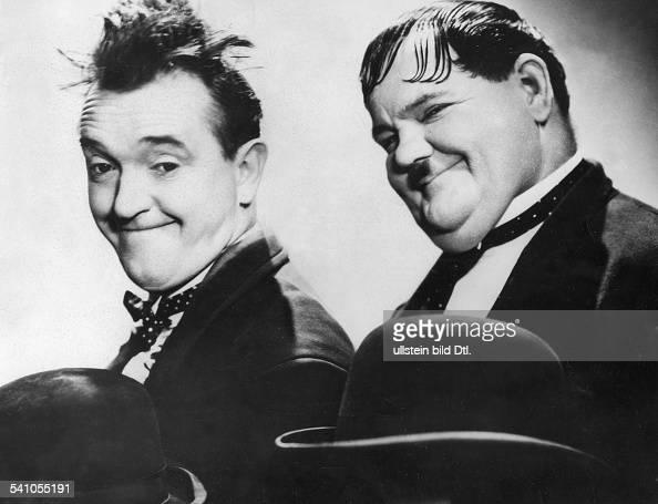 16061890 Schauspieler USAmit seinem Partner Oliver Hardy alias 'Dick Doof'