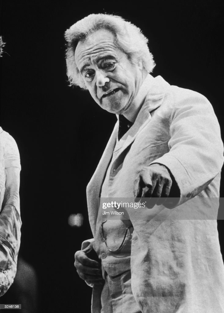 American actor Jack Lemmon performs on stage in Eugene OfNeill's 'Long Dayfs Journey Into Night' directed by Jonathan Miller at The Broadhurst...