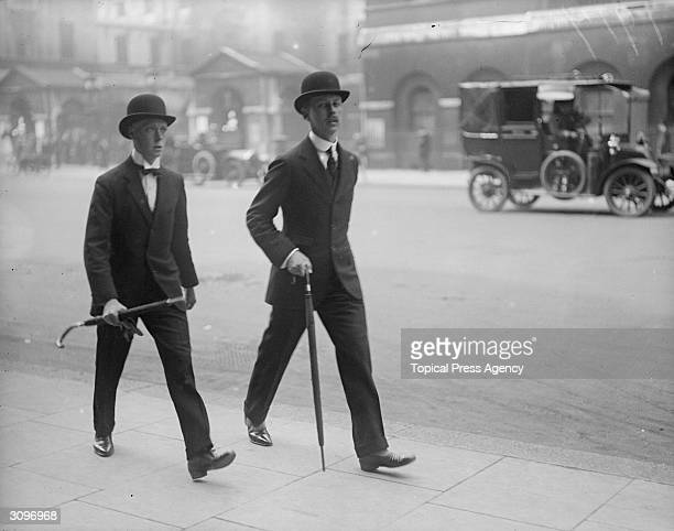 Bowler hat stock photos and pictures getty images - Hackett london head office ...
