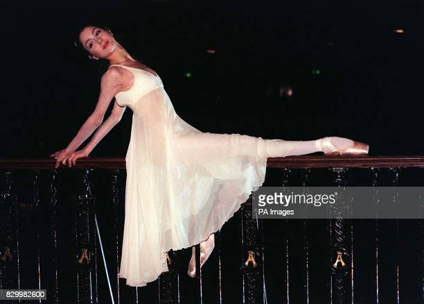 23yearold Spanish ballerina Tamara Rojo who will play the lead in the English National Ballet's latest production of Romeo and Juliet poses...