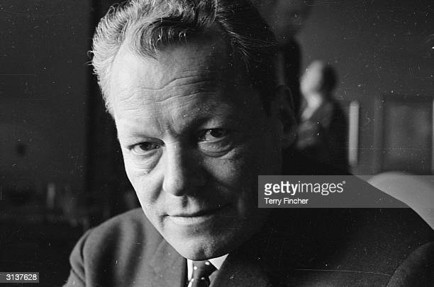 German politician Willy Brandt Mayor of West Berlin during a visit to London