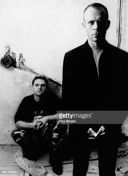 Photo of Vince CLARKE and Andy BELL and ERASURE Andy Bell Vince Clarke posed in The Netherlands on 24th January 1997