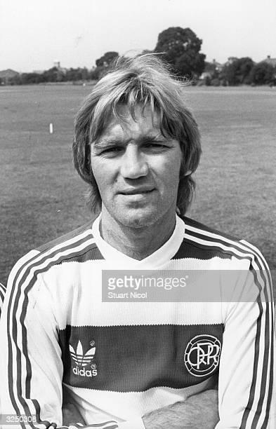 Queen's Park Rangers footballer Tony Currie