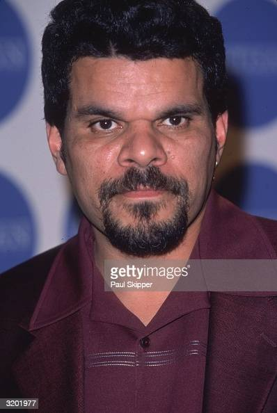 Headshot of actor Luis Guzman at the Artisan Entertainment preOscar party West Hollywood California