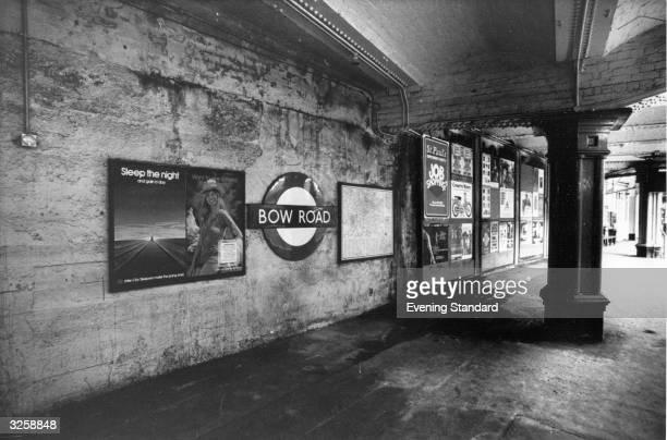 Bow Road Underground Station