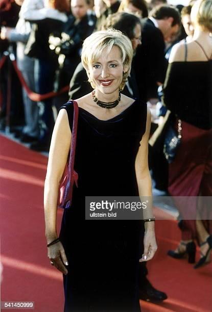 Journalistin TVModeratorin Nachrichtensprecherin D als Gast beim Deutschen Fernsehpreis 2000 im Coloneum in Köln