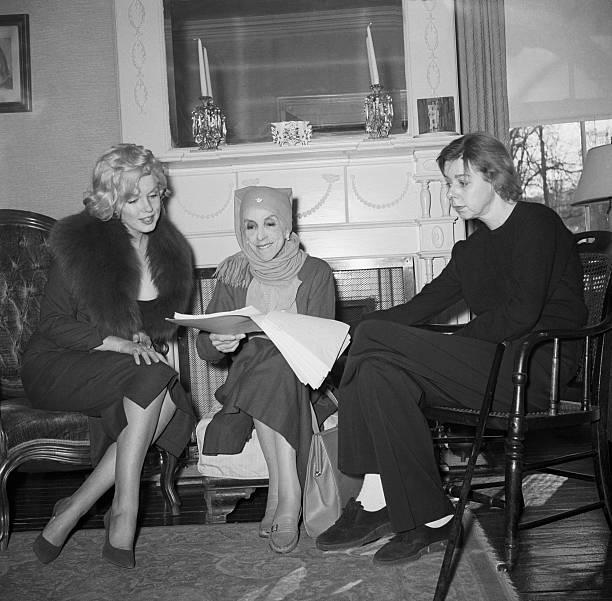 Marylin Monroe, Isak Dinesen, Carson McCullers - Februar 1959 Nyack, New York