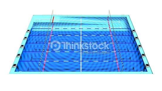 La piscina de 25 metros foto de stock thinkstock for Piscina 25 metros