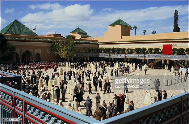 25th anniversary the reign of Hassan II in Marrakech Mauritania on March 3 1986