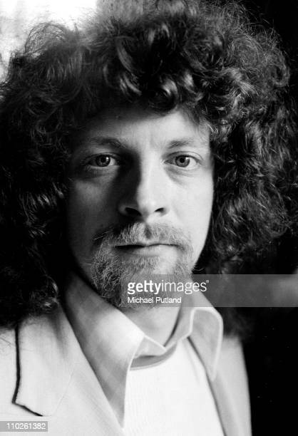 Jeff Lynne from Electric Light Orchestra posed in London on 25th April 1972
