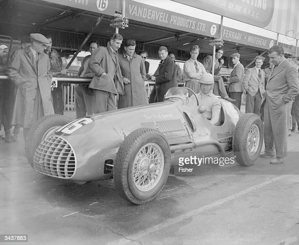 Italian Race Car Driver Alberto Ascari