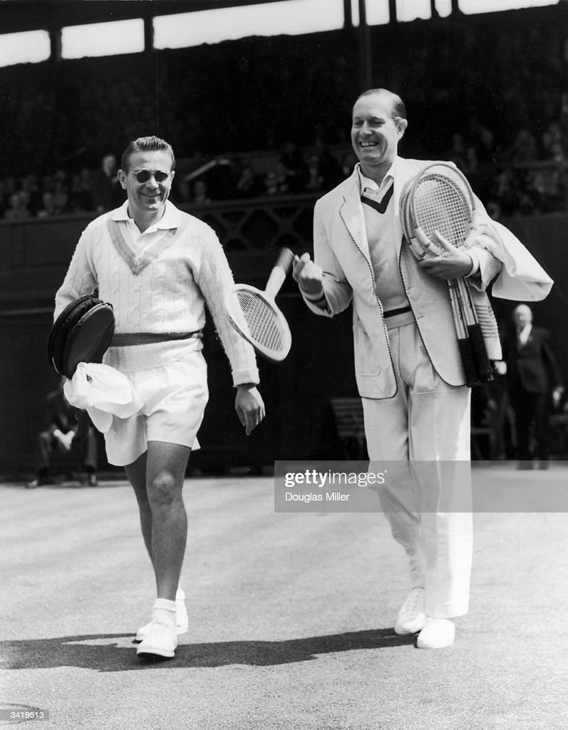 von cramm v drobny pictures getty images german tennis player gottfried von cramm right and czech born ian player jaroslav