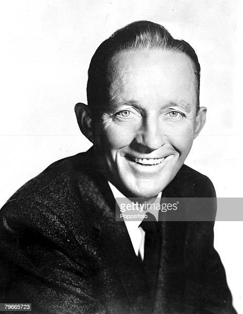 25th June 1959 A portrait of American Crooner Bing Crosby pictured on the Hollywood USA set of his latest film Say one for me