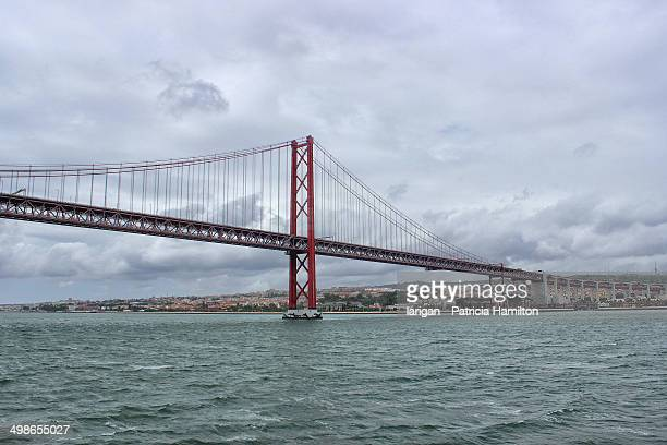 25th of April Bridge in Lisbon