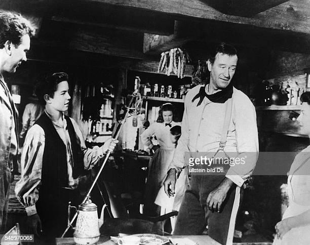 *Schauspieler Film USAin dem Film `Der schwarze Falke`USA 1956R John Ford