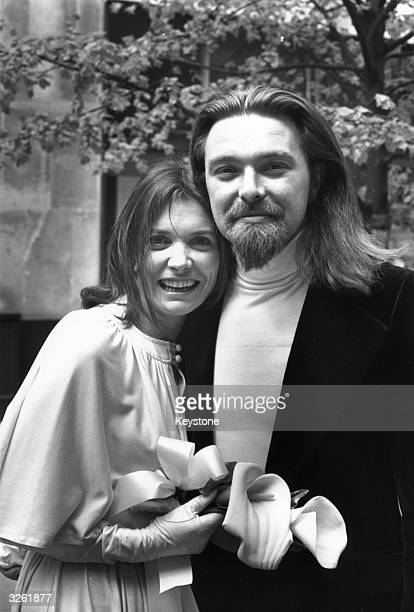 Joan Bakewell of the BB2 television programme 'Late Night LineUp' and dubbed the 'thinking man's crumpet' outside St Mary le Bow Church London after...
