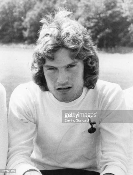 British footballer Glenn Hoddle of Tottenham Hotspur