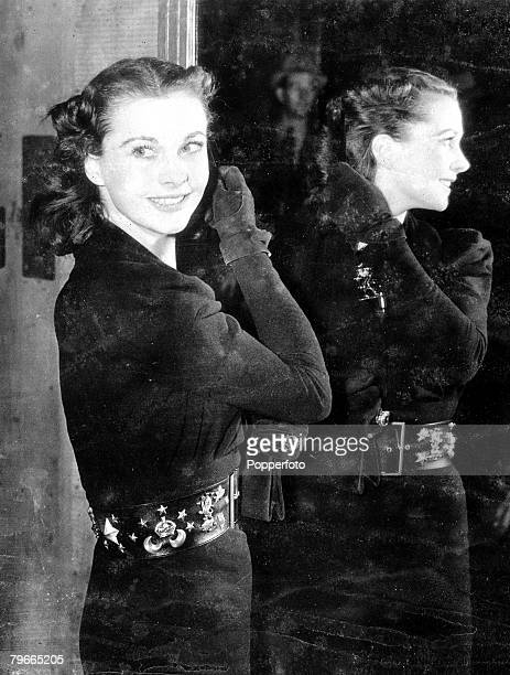 26th January 1939 Culver City California British stage and screen actress Vivien Leigh has been chosen to be Scarlett OHara in the film Gone with the...