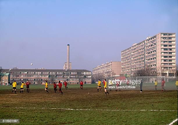 26th January 1997 Sunday Morning Football Burgess Park South London