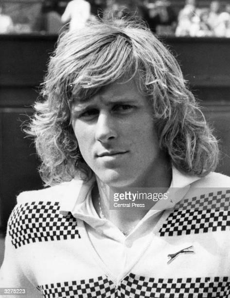 Swedish tennis player Bjorn Borg