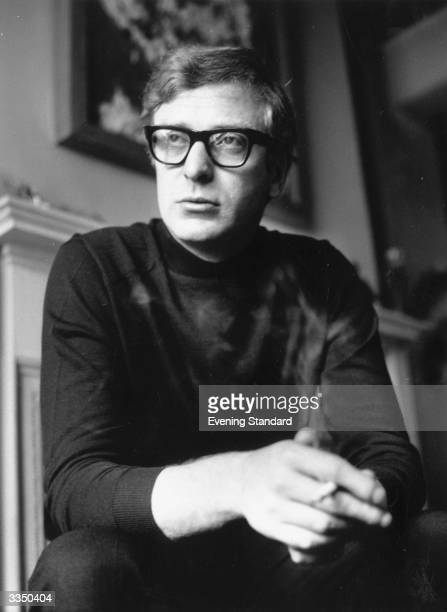 English film actor Michael Caine originally Maurice Micklewhite