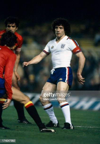 26th March 1980 International Football England v Spain Kevin Keegan