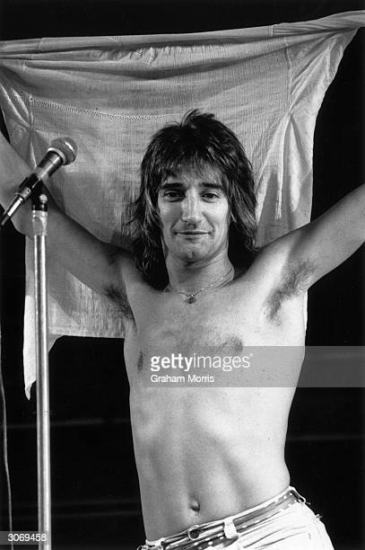 British rock singer Rod Stewart has performed with the Jeff Beck Group and the Faces but began a successful solo career in 1976 and had his first...