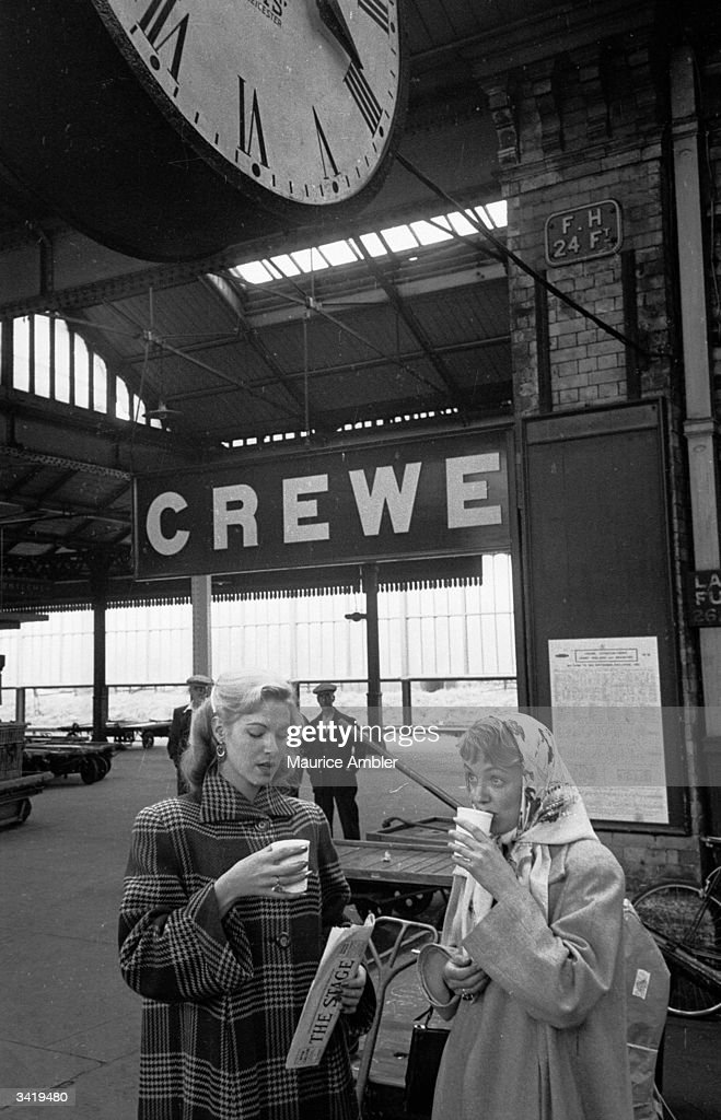 Hopeful of reaching the big time Carol leaves her home town Crewe for London Seeing her off is her friend Fay in the BBC drama documentary film...