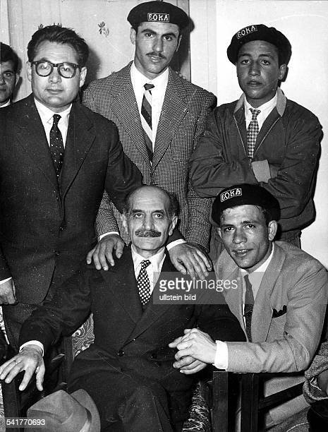 23031898 Politiker Militär Griechenland / ZypernFührer der zypriotischenUntergrundbewegung EOKA Oberkommandierender dergriechischzypriotischen Armee...