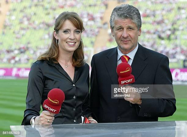 Sportjournalist Moderator Dmoderiert zusammen mit Monika Lierhaus bei Premiere Sport