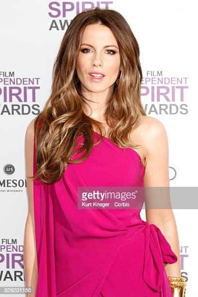 BECKINSALE 27th ANNUAL FILM INDEPENDENT SPIRIT AWARDS SANTA MONICA BEACH CA February 25 2012 ��Kurt Krieger