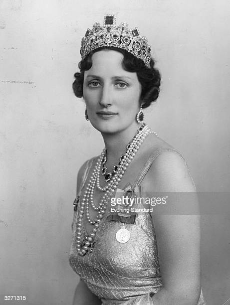 The Crown Princess of Norway wife of Crown Prince Olaf son of the King of Norway The Princess a visitor to London was before her marriage Princess...
