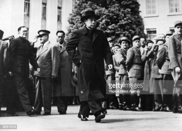 Chou En Lai the Chinese Communist leader at the Geneva Conference