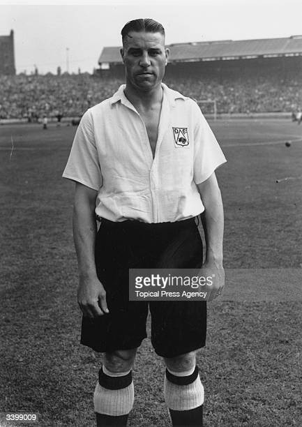 Derby County Football Club's centre forward Jack Stamps