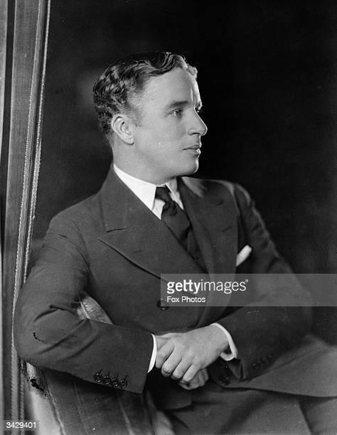 English film actor Charlie Chaplin