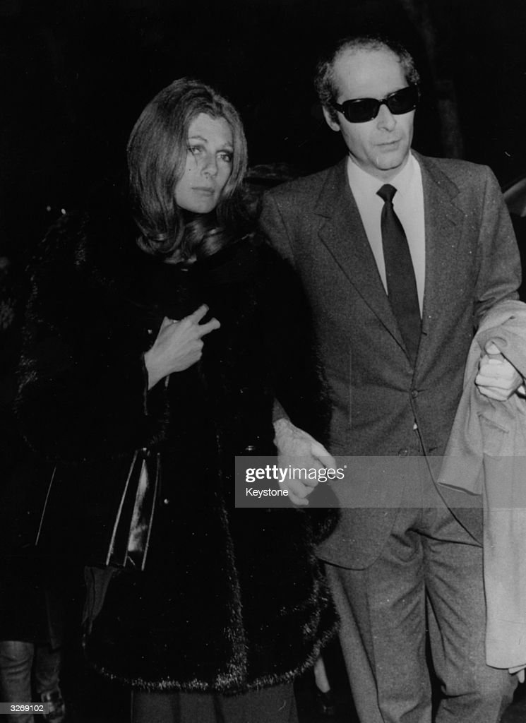 Baroness Fiona Von Thyssen (former model Fiona Campbell-Walter), a friend of Alexander Onassis who died in a plane crash, at the ceremony when his body was removed to a chapel in Athens.