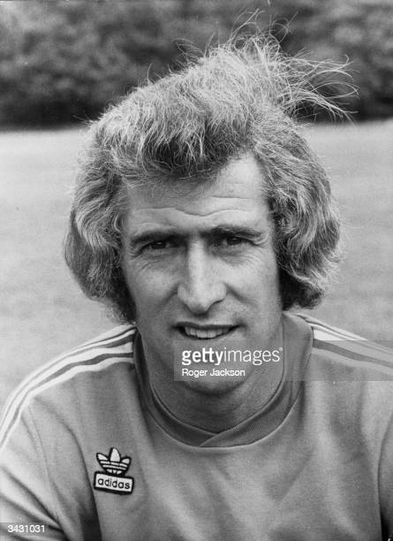 The Chelsea and England goalkeeper Peter Bonetti