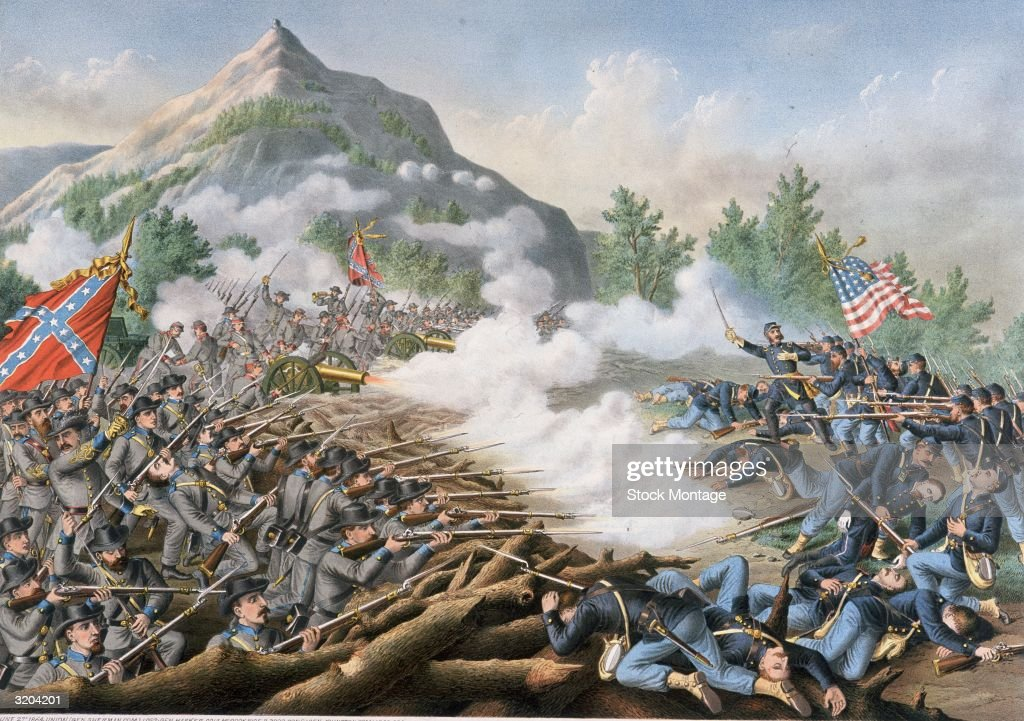 US Civil War 186165 The Atlanta Campaign Major General William T Sherman sent Union forces to attack Confederate General Joseph E Johnston's...