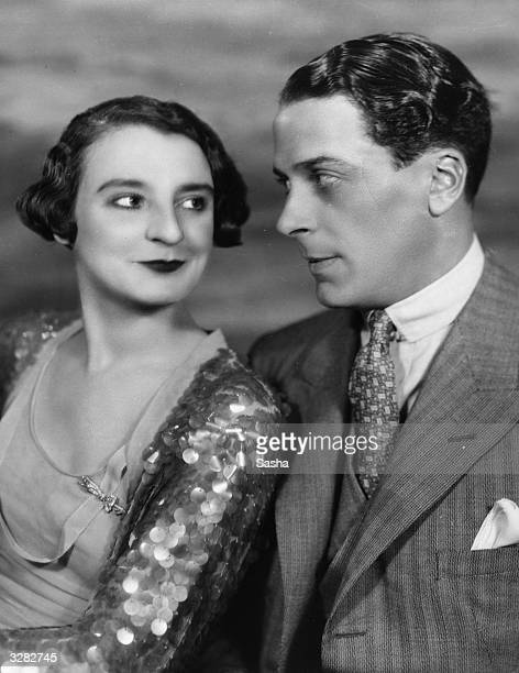 British revue artist Elsie Randolph formerly Elsie Florence Killick with Jack Buchanan the British entertainer in 'That's A Good Girl'
