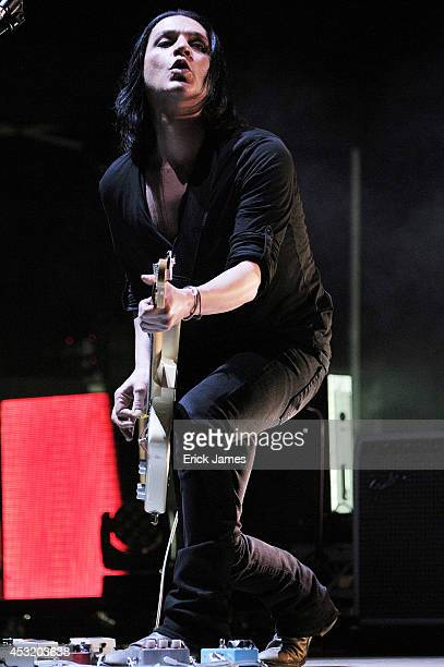 Placebo performs live during the Paleo Festival on July 27th 2014 in Nyon Switzerland