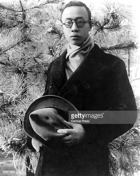 Henry Pu Yi the last emperor of China who ruled briefly as the child emperor Xuantong of the Qing dynasty before the establishment of the Republic of...