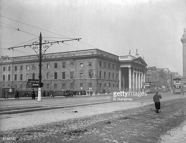 The General Post Office in O'Connell Street Dublin Two years earlier it had served as the headquarters of the leaders of the Easter rising and had...