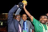 28th Orange Africa C of nationsCAN 2012 Equtorial Guinee Gabon Final Zambia vs Cote D'Ivoire Katongo Christopher Cap