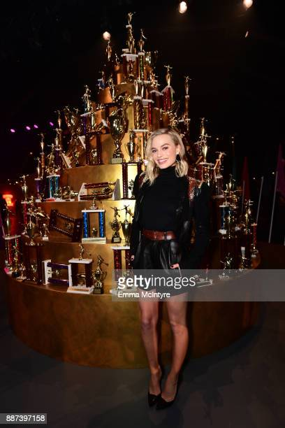 29Rooms Collaborator Margot Robbie attends Refinery29 29Rooms Los Angeles Turn It Into Art Opening Night Party at ROW DTLA on December 6 2017 in Los...