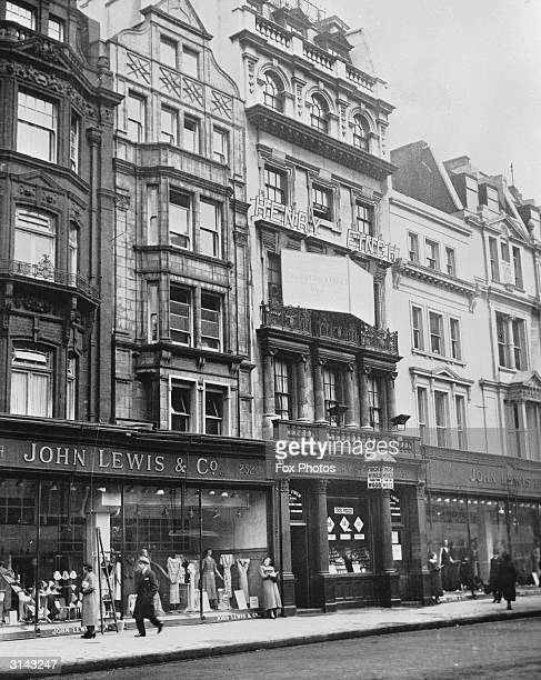Finchfs wine bar in Oxford Street London next to John Lewis Co The property was due to be auctioned the following March and was expected to fetch an...