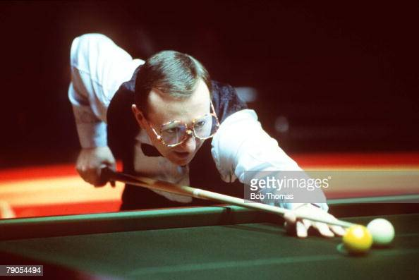 29th January Benson and Hedges Masters Snooker Wembley Northern Ireland's Dennis Taylor in action
