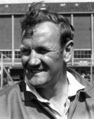 Don Revie manager of Leeds United Football Club
