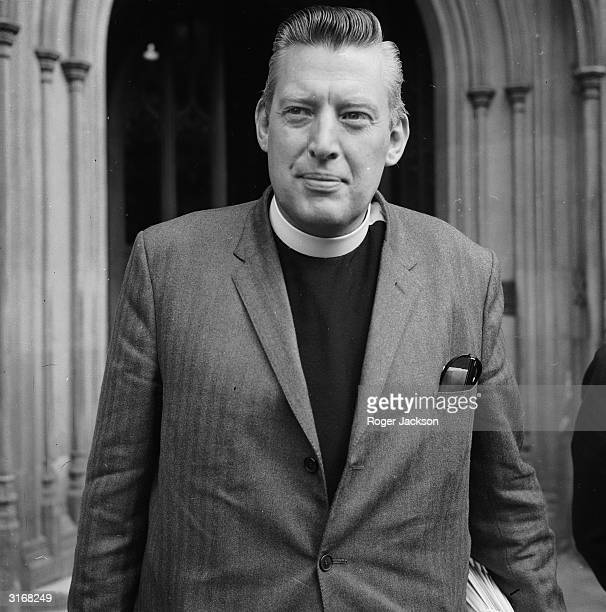The Reverend Ian Paisley at Westminster to take his seat as the Protestant Unionist member of Parliament for Antrim